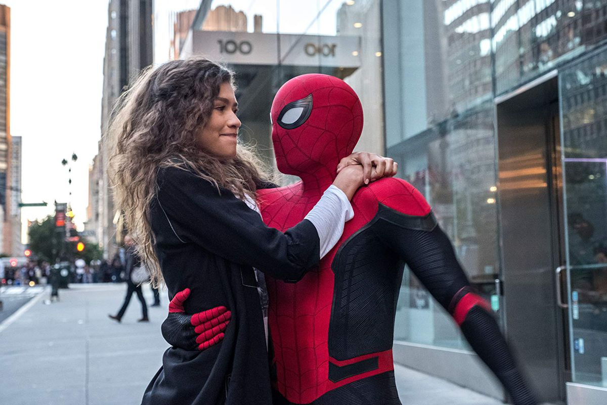 SPIDER MAN FAR FROM HOME